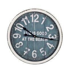 Μεταλλικό ρολόι τοιχου beach bar style abdfda500e2
