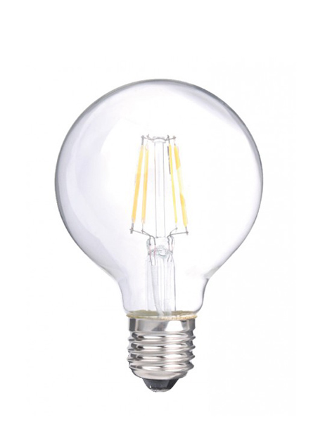 G95 - Λάμπα Edison LED οικονομίας A', Dimmable,Θερμό,E27/6W